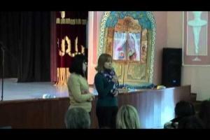 Видео родительского собрания 24.01.15 для родителей будущих первоклассников